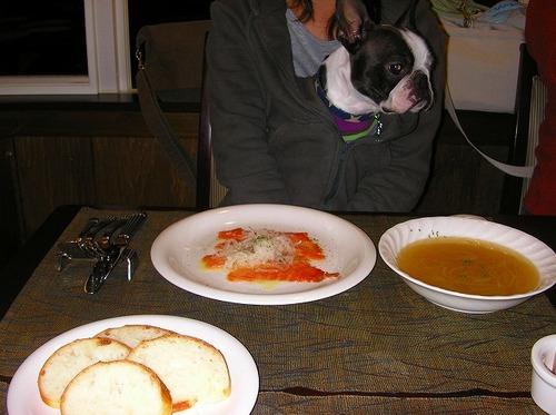 06お楽しみの夕食タイム